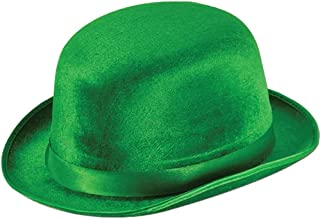 Green Vel-Felt Fedora Party Accessory (1 count) (1/Pkg)