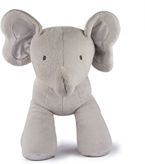 GUND BabyGUND Bubble灰色大象毛绒玩具 高25英寸(64cm)(亚马逊进口直采,美国品牌)