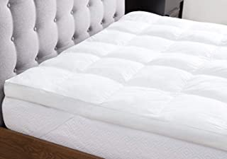 Deyarco Regency Klub - Cotton Down Proof Mattress Topper Queen with piping , 160 x 200 cm