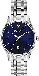 Bulova - Reloj Analógico para Mujer de Cuarzo con Correa en Acero Inoxidable 96M149