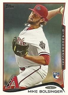 2014 Topps Update Variations #US-287b Mike Bolsinger Sparkle-Necklace MLB Baseball Card (SP - Short Print) NM-MT