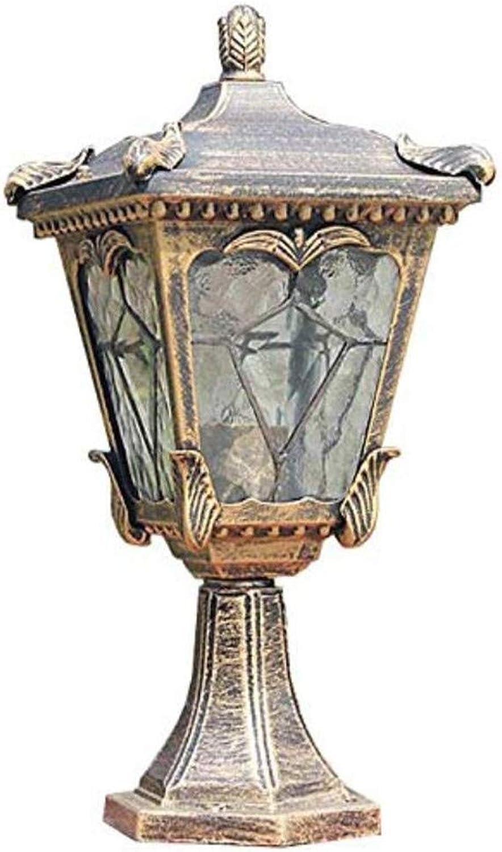 Kronleuchter Deckenleuchte Spotlightoutdoor Wasserlinie Glas Quadratische Gartenleuchte Europischen Stil Patio Rainproof Column Lamp