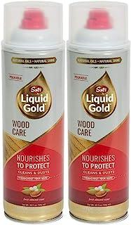 Scott's Liquid Gold Pourable Wood Care- Cleans & Dusts 14 oz (2 pack)