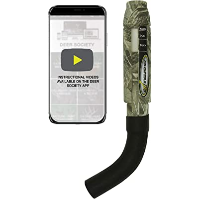 Extinguisher Deer Call (Black) with DVD Instructional Review
