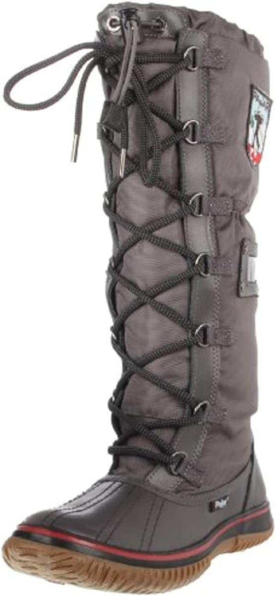 Pajar Canada PCWS10282GRIPCHARCOAL 41 Charcoal/Charcoal Snow Womens Boots Size 10 New