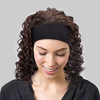 curly wigs with headbands