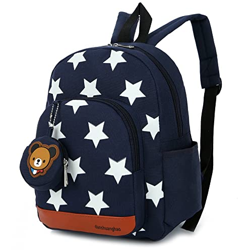 DafenQ Kids Backpack - Cute Bear Toddler Schoolbag Baby Lunch Boxes Carry  Bag or Preschool Kindergarten 6d60acba4e063