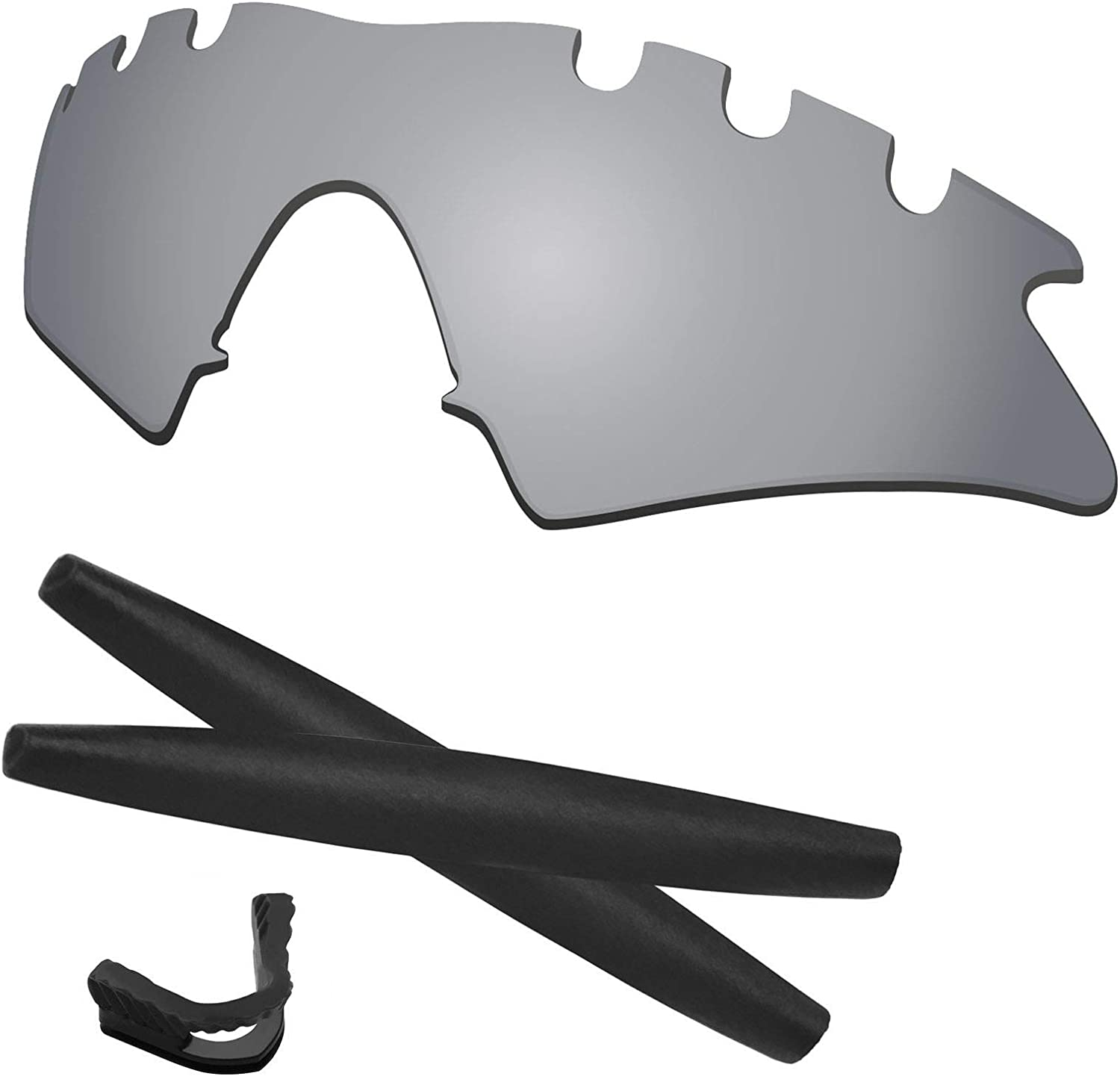 Predrox Courier shipping free shipping M Frame Max 80% OFF Sweep Vented Rubber fo Lenses Kits Replacement