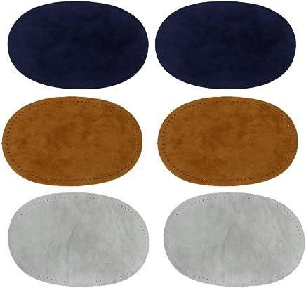 Sharplace Set de 3pcs Coude Genou Patchs Applique de Couture Coudière pour Chemise Artisant DIY