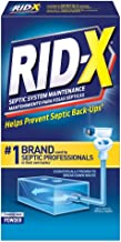 RID-X Septic Tank Treatment Enzymes, 1 Month Supply Powder, 9.8oz