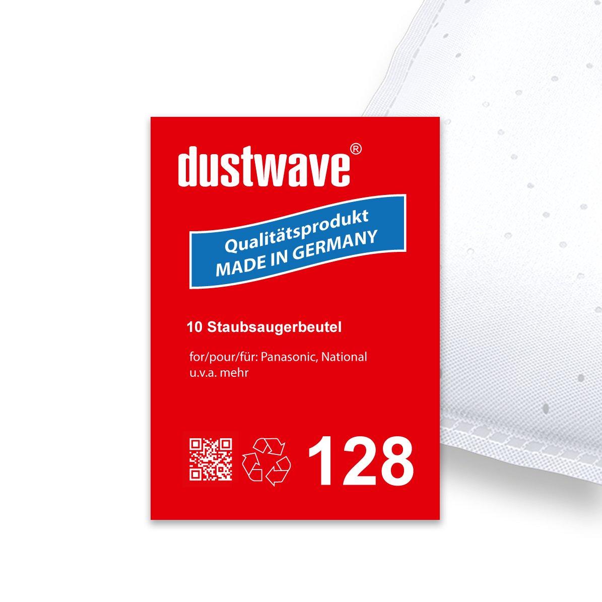 Pack de ahorro – 10 bolsas para aspiradoras Panasonic – MC de S 781, 783, 785 Aspiradora – dustwave® Marca Bolsa para el polvo/Fabricado en Alemania + Incluye Micro filtro: Amazon.es: Hogar