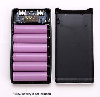 vegan USB Power Bank 5x18650 Battery Charger DIY Box Case Holder for Mobile Phone Tablet PC
