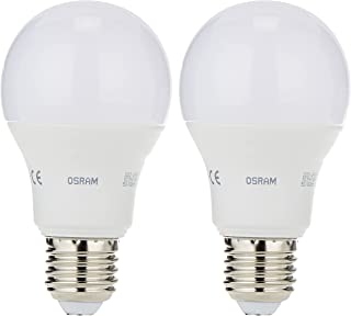Osram LED Value Classic A Frosted LED Lamp (10.5w) Screw - Base E27, 1060 lm -Warm White-2700K (Bundle- Pack of 2)