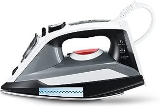 Bianco ferro da stiro Bosch TDI903239A Ferro da stiro a secco e a vapore 3200W Nero