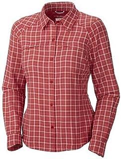 Columbia Women's Silver Ridge Plaid Long Sleeve Shirt (Extended Size)