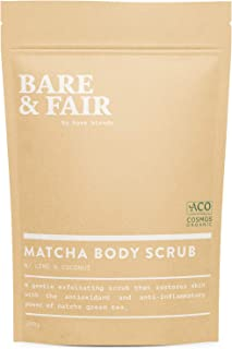Matcha Body Scrub by Bare Blends | Lime & Coconut | Palm Oil Free - 200g