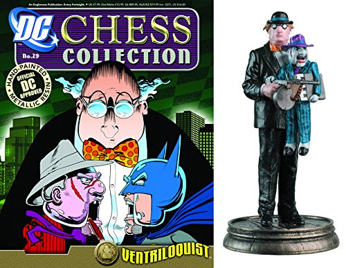 dc comics Chess Figurine Collection Nº 29 Ventriloquist