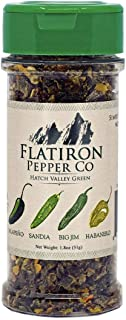 Flatiron Pepper Co - Hatch Valley Green. Premium Green Chile Flakes. Hatch Green Chile - Jalapeno - Habanero