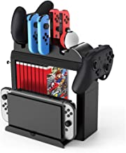 Game Accessories Game CD Card Disk Storage Divider Shelf Gamepad Hook Game Console Holder Multifunction Bracket for Ninten...
