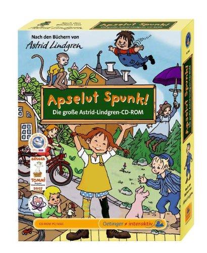 Apselut Spunk! Die große Astrid Lindgren CD-ROM
