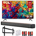 TCL 55R635 55-inch 6-Series 4K QLED Dolby Vision HDR Roku…