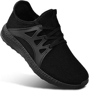 Guteidee Mens Sneakers Running Walking Gym Sport Lightweight Breathable Mesh Street Shoes