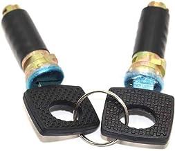 YMQ Store Auto deurslot vaten met 2 dezelfde sleutels geschikt voor Mercedes Benz Vito W638 ZHANGMEI (Color : 2 lock)