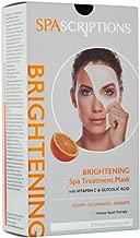 SPAScriptions Brightening SPA Treatment Mask, 5 masks