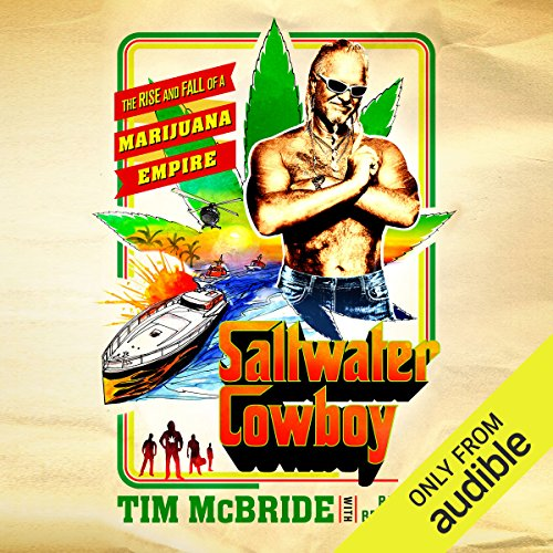 Saltwater Cowboy audiobook cover art