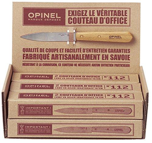Opinel Couteau Office INOX - N°112 - Vendu par 13