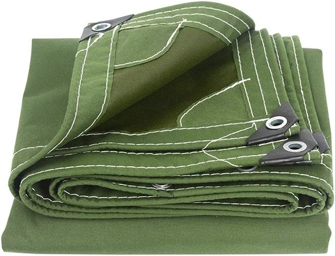 QYQPB De Plein air Taille de mètre de Couverture imperméable de Feuille de Sol de Couverture imperméable Verte Forte et Verte de bache Forte Filet d'ombrage (Taille   3x6m)