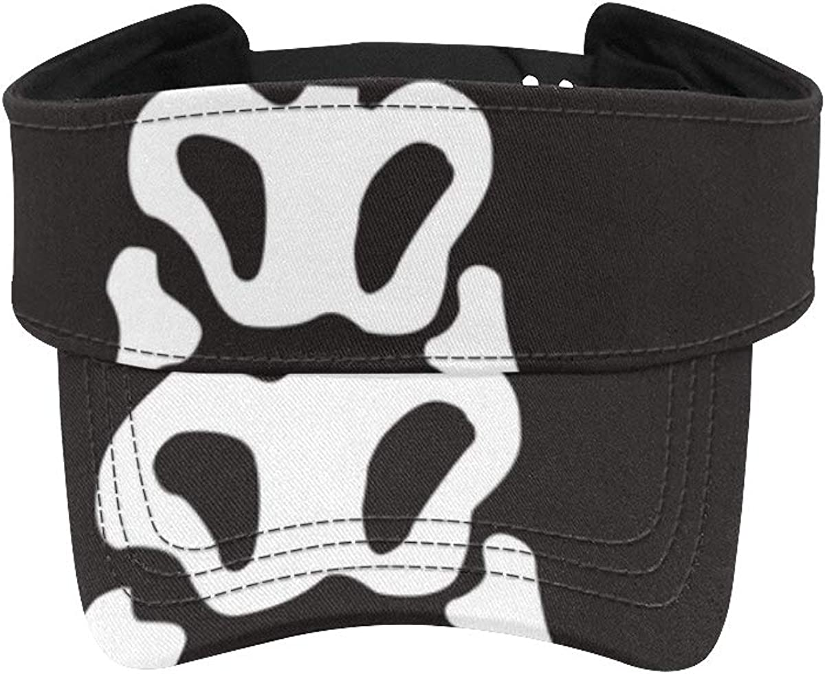 Hat Running Men OFFicial store Cute Max 76% OFF Kawaii Visor Baseball Skeleton Ha Halloween
