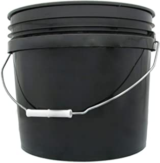 hydrofarm bucket 3 gallon black