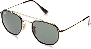 Ray-Ban Men's Sunglasses Marshal II, Gold/Green