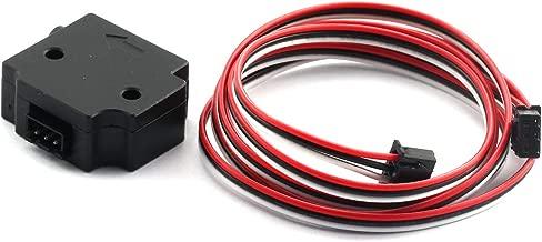 PZRT 1PC 3D Printer Part New Version Black Material Detection Module with 1M Cable Filament Break Detection Module Applicable Filament Diameter 1.75MM