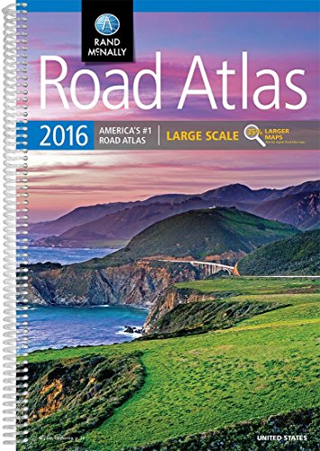 Rand McNally Large Scale Road Atlas United States 2016 (Rand McNally Road Atlas)