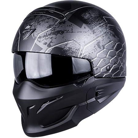 Scorpion Exo Combat Ratnik Motorradhelm Xxl Mattschwarz Auto