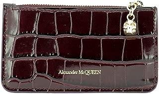 Luxury Fashion   Alexander Mcqueen Womens 5541991JM0G6230 Burgundy Wallet   Fall Winter 19