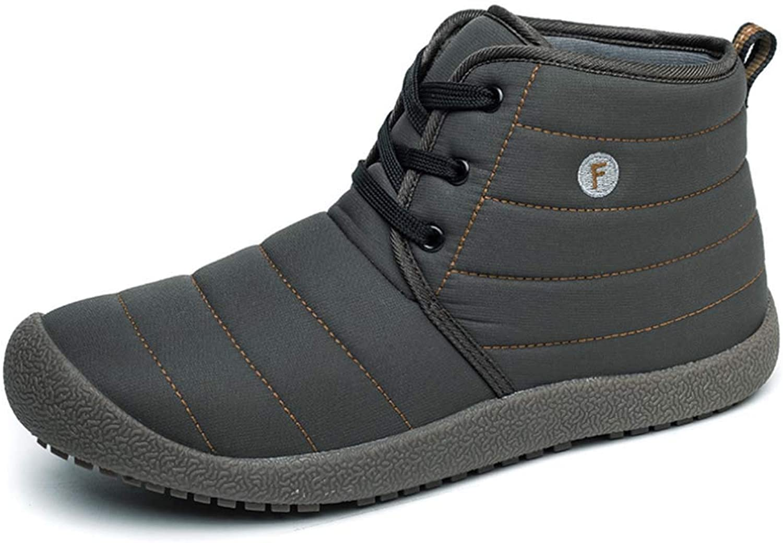 Unisex Outdoor Baumwolle Schuhe 2018 Slip Einfache Pelz Gefüttert Warme Wanderschuhe Große Größe B07JDNYVF7  Große Auswahl