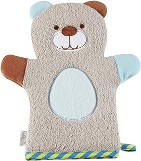OUNONA ベビー シャワースポンジ ボディースポンジ 手袋の形 子供用 ベビーコットンバスブラシ 風呂 かわいい 柔らかい 漫画のデザイン
