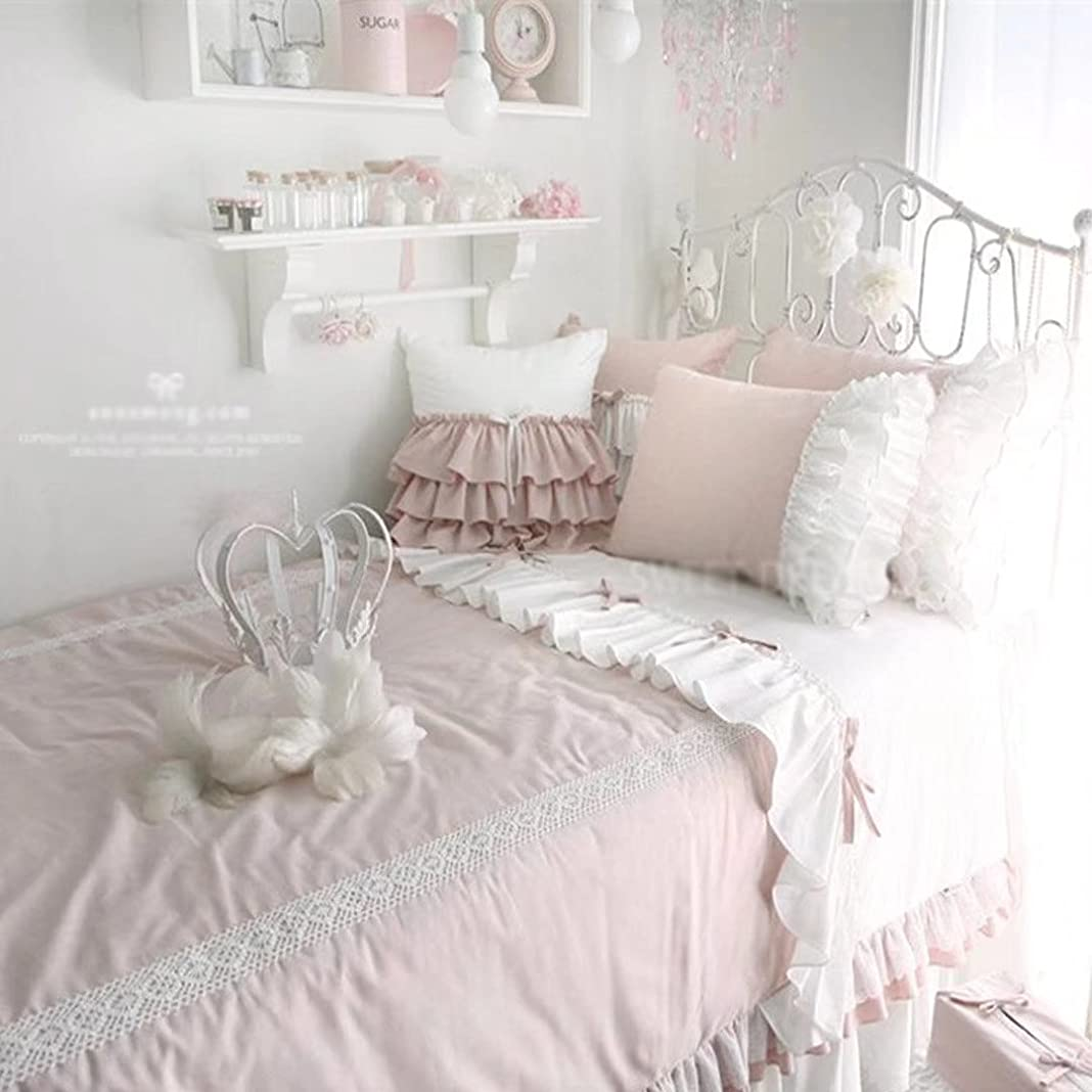 誤って誘導欲望シンプル 掛け布団カバー ベッドカバー 枕カバー 寝具 プレゼント おしゃれ 姫系 プリンセス 3点セット 綿