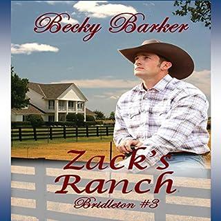 Zack's Ranch audiobook cover art
