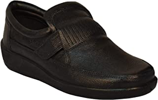 TSF-Black Casual Shoes Slip ON