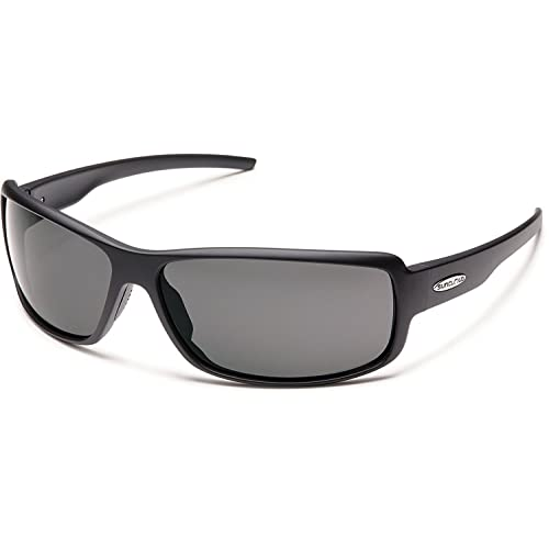 5e0d925cd3d Suncloud Polarized Sunglasses Ricochet in Matte Black with Grey Lens