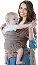 Baby Wrap Carrier, Cherub Infant Sling Breathable Nursing Cover from Newborn Up to 44lbs