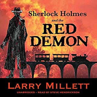 Sherlock Holmes and the Red Demon: A Minnesota Mystery audiobook cover art