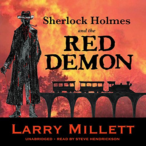 Sherlock Holmes and the Red Demon: A Minnesota Mystery Audiobook By Larry Millett cover art