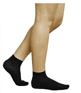 Calcetines 5% Plata Algodón Tobilleros Mujer (3 PARES) Antibacterianos, Pies Sensibles