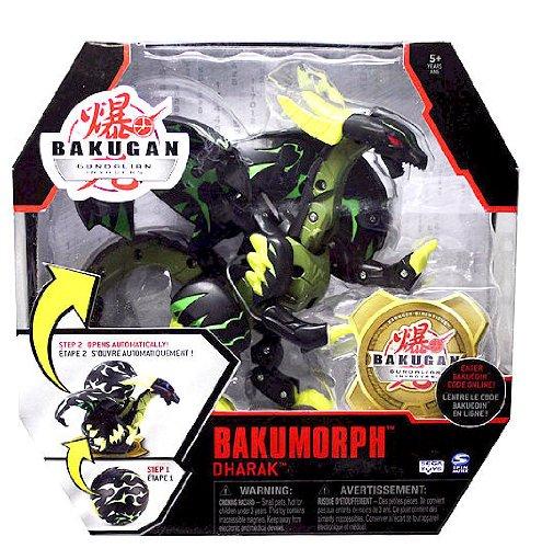Bakugan Gundalian Invaders Bakumorph - Dharak (Black) Darkon