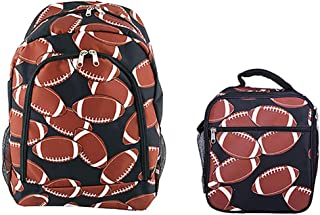Student Backpack Preschool Bookbags with Insulated Lunch Box Toddler School College Back Bag for Kids Girls Daypack Travel Casual Cute Printed Pattern (NBN-NCC17-31)